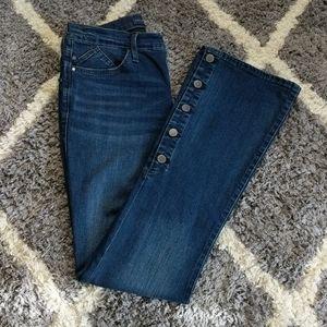 Rock & Republic Jeans | High Rise | Button Flare